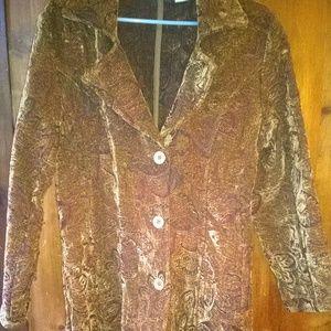 Beautiful Tapestry Coat